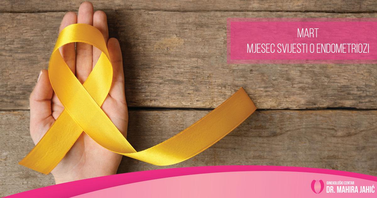 Mart – mjesec svijesti o endometriozi