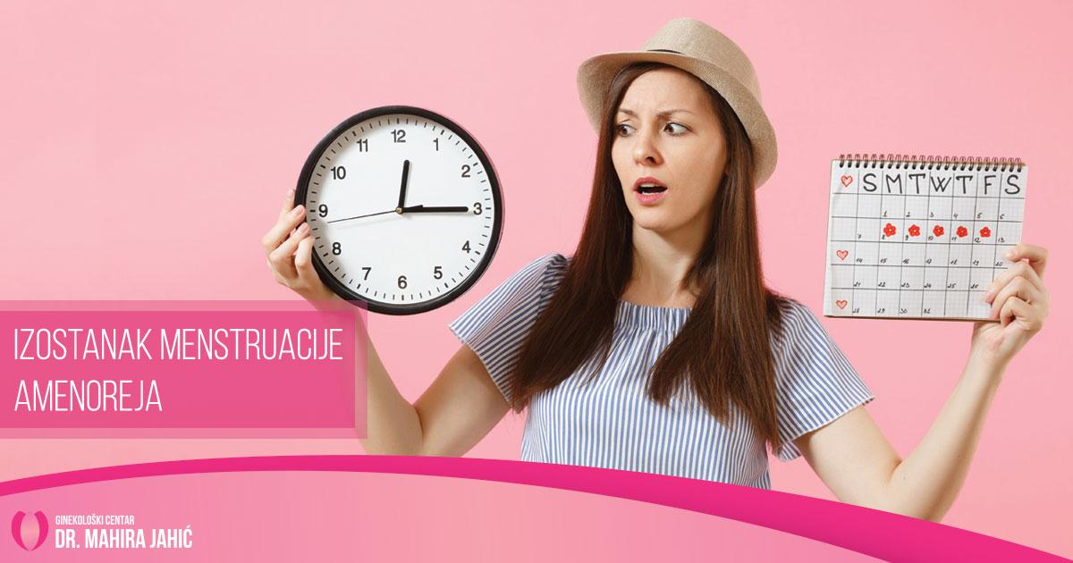 Izostanak menstruacije – Amenoreja